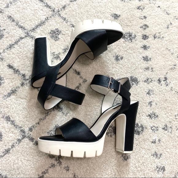 Lug Sole Heel Sandals | Poshmark